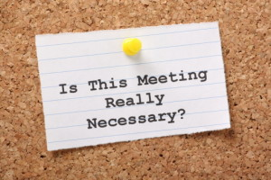 How to Run Efficient Meetings