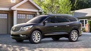 The Buick Enclave (MSRP $39,050) is perfect for a larger family thanks to its eight-passenger seating (seven-passenger seating is an option) over three rows of seating with a maximum of 115.2 cubic feet of cargo.