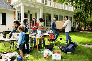 It's garage sale season! How does getting paid to have people take the items you don't want any more off your property sound?