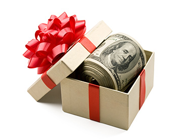 For many home buyers, it's common to receive a monetary gift to be used for part, or all, of a down payment.