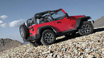 """The Jeep Wrangler was named the """"4x4 of the Decade"""" by Four Wheeler Magazine"""