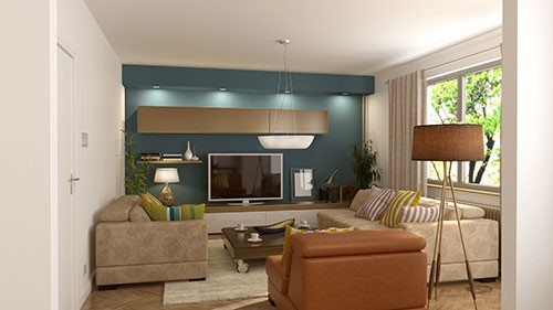 Whether you are sprucing up a new home or reinvigorating a room that seems to have lost its luster, accent walls are a great way to draw eyes and start conversations.