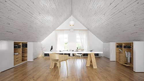 If you have an attic space that is either empty or full of junk, consider these creative uses for your attic space, ranging from a peaceful getaway to an inspiring studio.