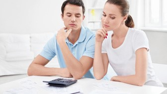 There is no right or wrong decision, but if you are going to open a joint account, there are several factors to consider regarding how much each spouse should contribute.