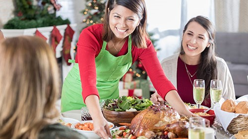 The holidays are a time for families to gather, share laughs and spend quality time together.